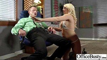 (kagney linn karter) Big Boobs Girl Enjoy hard Style Sex In Office clip-20