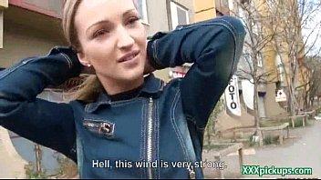 Sexy Czech Amateur Slut Fucks For Cash In Public 26