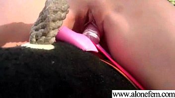 Amateur Girls Masturbating With Toys clip-17