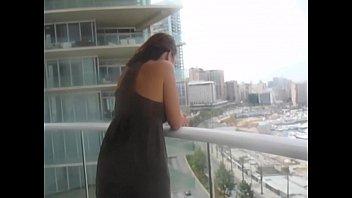 Pakistani wife Enjoying husband in hotel