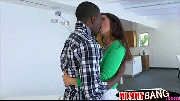Black man fucked stepmom and teen babe