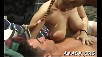 breasty face-sitting home action