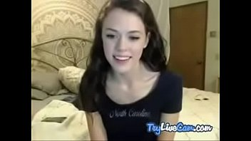 Girl touching herself on cam show at TryLiveCam.com