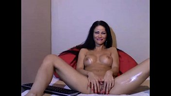 Brunette Milf Squirt on Webcam - Check for more at 69porncams.com