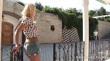 PARADISE FILMS Stunning busty blonde babe