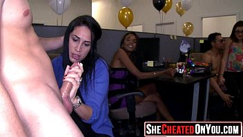 13 Milfs caught cheating on video at cfnm party08
