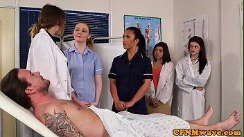 brit cfnm nurses dicksucking patient