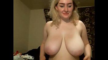 Huge tits blonde girl webcam porn