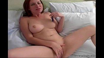 Perfect Redhead Masturbates Hard