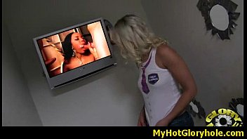 Interracial - White Lady Confesses Her Sins at Gloryhole 26