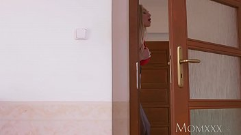 mother my brother039_s mischievous silver-blonde enormous brassiere-stuffers wifey.