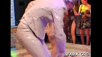 top g/g getting all dirty in amateurs catfight pin