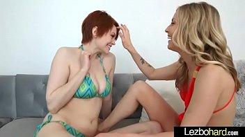 (Karla Kush &amp_ Bree Daniels) Lesbians Girls Play In Sex Act On Camera clip-15