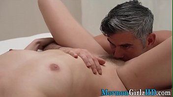 Teenage mormon spunked on