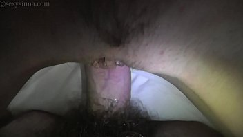 Young couple deep penetration bare sex she on top titfuck and spoon sex her foot