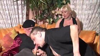 German Blonde Amateur Threesome