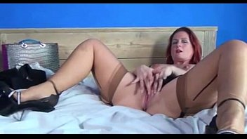 Hot Mature Redhead Strips &amp_ Shares Her Pussy - More at MOISTCAMGIRLS.COM