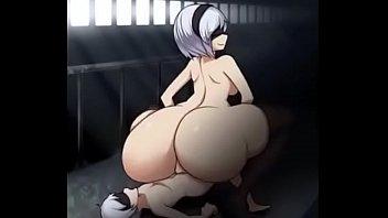 Sinensian - Big Ass 2B Hentai Booty Bounce