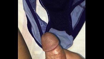 Cum on panty
