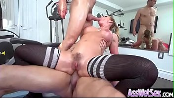 (Phoenix Marie) Big Butt Oiled Girl Love Deep Anal Sex clip-26