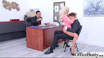 (Olivia Fox) Girl With Round Big Tits In Hard Style Sex In Office clip-23