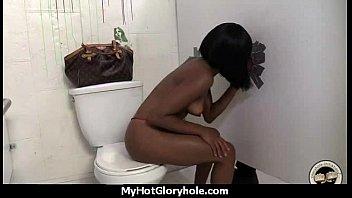 Gloryhole blowjob interracial amateur 21