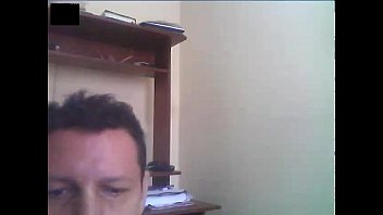 guy on web cam jizm for.