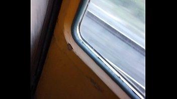Dick flash in train indian