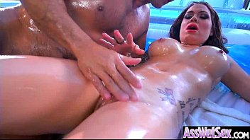 Big Oiled Ass Hot Girl (Karmen Karma) Like And Enjoy Deep Anal Sex mov-27