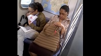 Thick Jamaican Mature legs on 2 Train in the Bronx