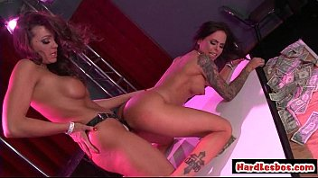 Big Tit Blonde Enjoys Pussy Lick From Brunette Lesbian 03