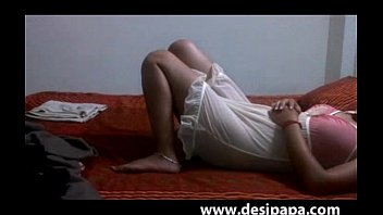 married indian couple homemade sex wife laying naked in nighty fucked hard
