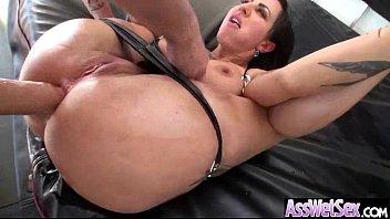 (dollie darko) Deep Anal Sex With Oiled Curvy Big Ass Girl video-10
