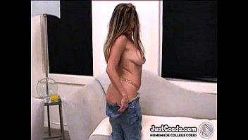 Latina big sex toy milf masturbation EXGF solo video