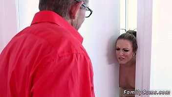 Dry humping daddy and father cumshot facial xxx Faking Out Your Father