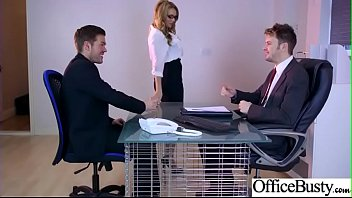 (Stacey Saran) Horny Girl With Big Tits Get Sex In Office clip-27