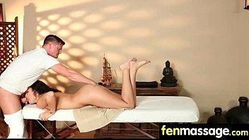 Deepthroat Blowjob From Big Tits Massage Girl 5