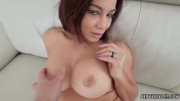 humungous titty cougar getting off and joy couch.