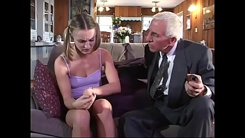 Young girl gets fucked by old couple