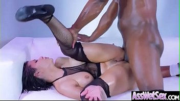 (Aleksa Nicole) Wet Big Ass Oiled Girl Love Anal Hardcore Sex clip-02