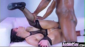 (Aleksa Nicole) Wet Big Ass Oiled Girl Love Anal Hardcore Sex clip-02