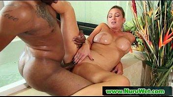 Lesbian slippery nuru massage sex 23