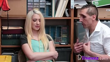 slender blond snatched by the smug.