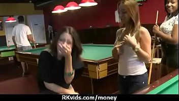 Sexy teen nails her butt on hard dick for cash 1