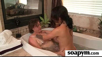 Soapy Massage and Shower Blowjob 15
