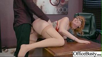 Office Big Tits Girl (Lauren Phillips) Enjoy Hardcore Intercorse mov-26