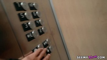 My boss'_ angry wife Sarah Vandella fucks me in the elevator