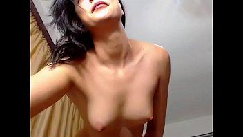 Sexy amateur naked strip tease
