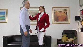 Amateur stockings blowjob