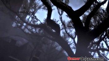 GamerOrgasm.com   Fatal Punish Lara Croft Hardcore Sex